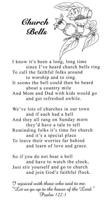 Christmas poems for church bulletins